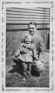 Young Craig Nagel and His Father